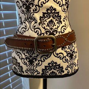 Lucky brand studded belt